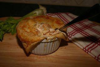 Southern Souffle: Cajun Shrimp and Chicken Pot Pie