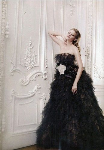 Black Wedding Dress My Dream Dress Pinterest