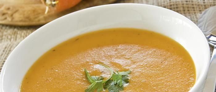 Creamy Carrot Soup | The Biggest Loser | veggies | Pinterest