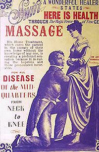 "The prescription for female hysteria was usually a good spot of doctor administered vaginal massage until the woman achieved ""hysterical paroxysm."""