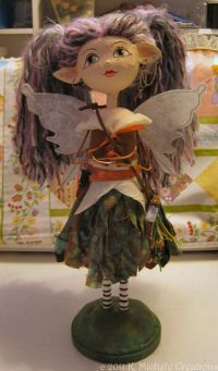 Причудливая коттедж: Faery Art Doll Учебник