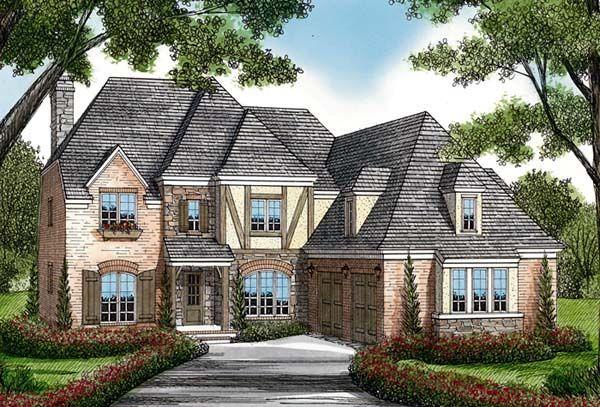 Cottage European House Plan 85517