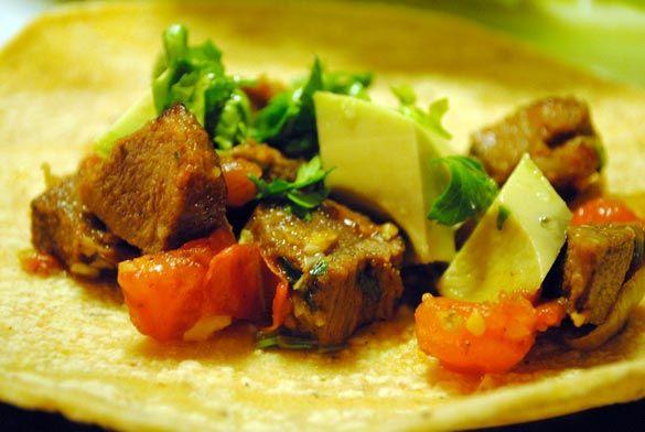 ... beef tongue #tacos (aka tacos de Lengua). Would you try it? #tacos