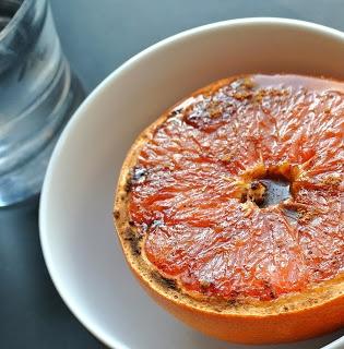 Spiced Broiled Grapefruit: brown sugar, ginger, cinnamon, nutmeg ...