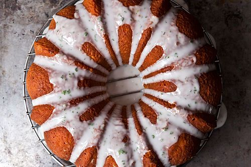 Texas Ruby Red Grapefruit Cake with a Hint of Mint - I LOVE GRAPEFRUIT