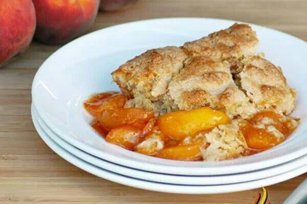 Peach Cobbler | Desserts | Pinterest