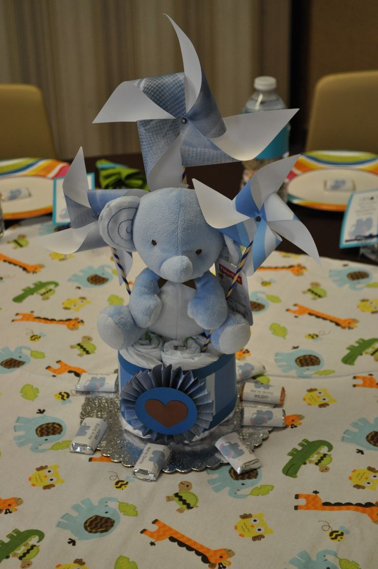 Elephant Centerpiece | Baby Elephant | Pinterest