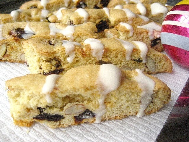 Cherry Almond Biscotti | Cookies | Pinterest