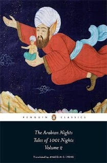 The Arabian Nights: Tales Of 1001 Nights. My favourite line is about Scheherazade who was 'beautiful of face with attributes of grace'.