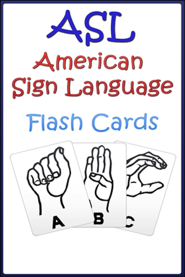 american sign language thesis This undergraduate thesis examined the use of baby sign and how it affects a  hearing  they may be adapted from american sign language (asl) asl is the .