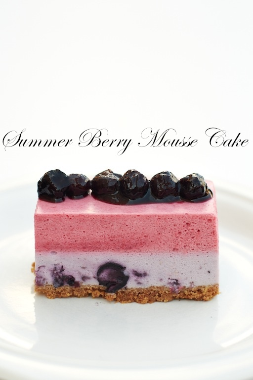Yue's Handicrafts ~月の工作坊~: Summer Berry Mousse Cake