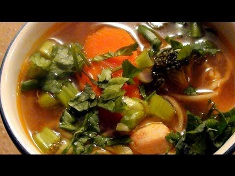 Asian Chicken Soup for the Holiday Soul | soup | Pinterest