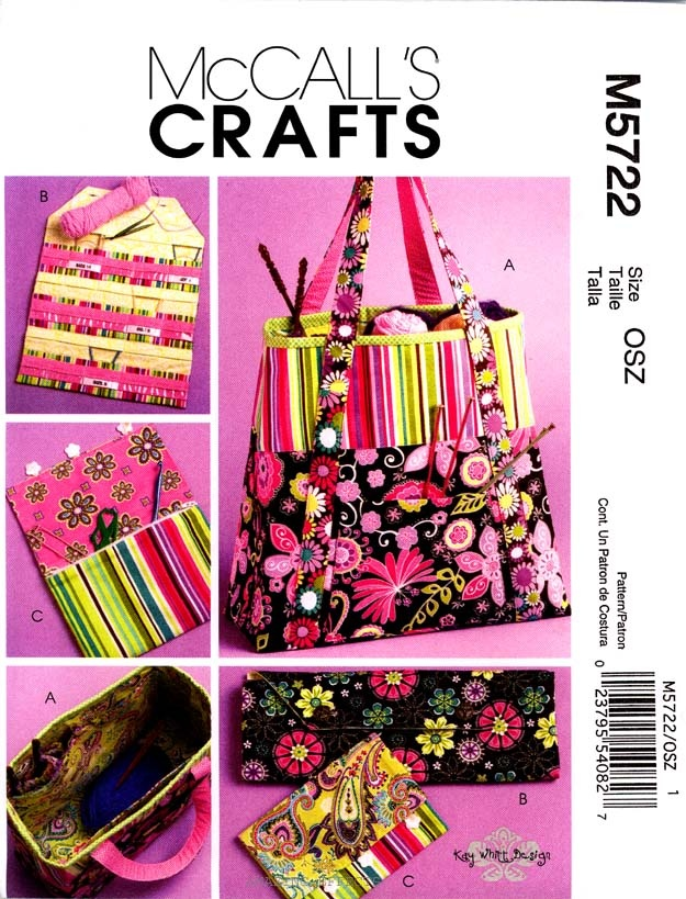 Tote Bag Sewing Pattern Organizers