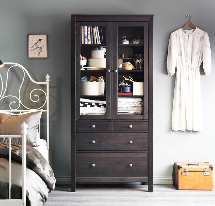 IKEA Österreich, Inspiration, Schlafzimmer, Vitrine HEMNES ...