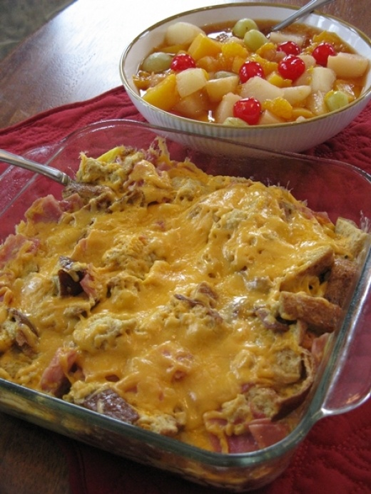 Ham and Cheese Breakfast Bake | Breakfast - or not! | Pinterest