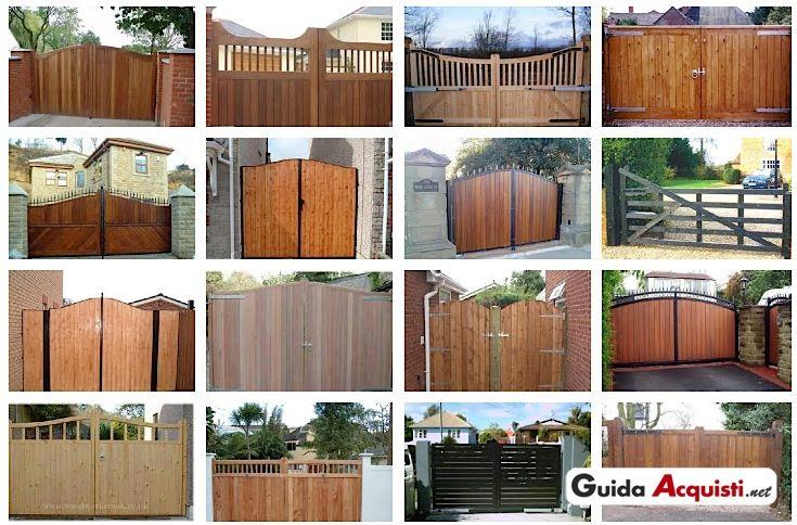 Cancello in legno per esterno ww workshop pinterest - Cancelli in legno per esterno ...