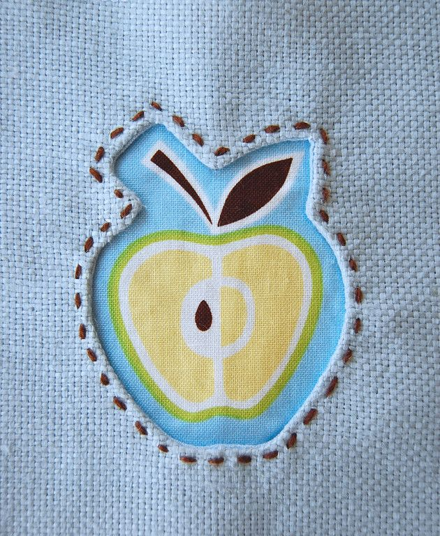 Reverse Applique Would be really cute for bins of food, potato, onion ...