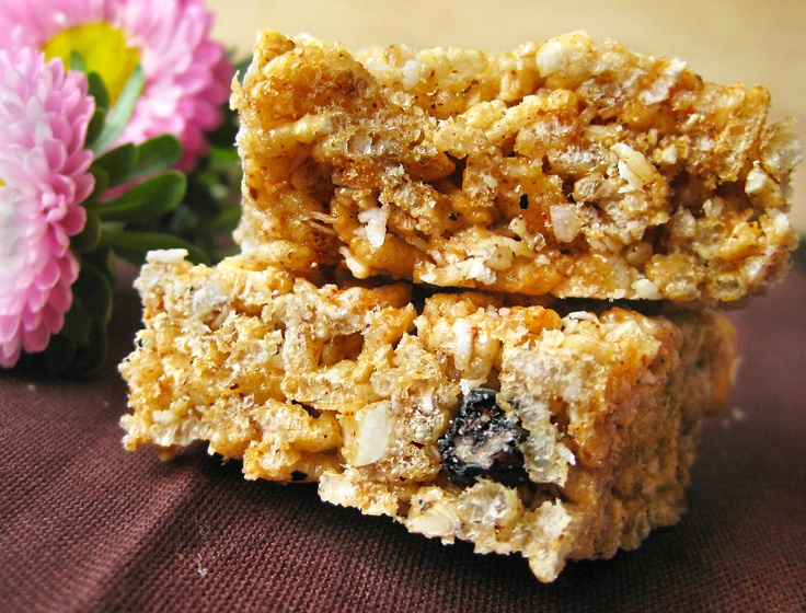 Gluten-Free Rice Crispy Treats | Veggie and GF Recipes | Pinterest