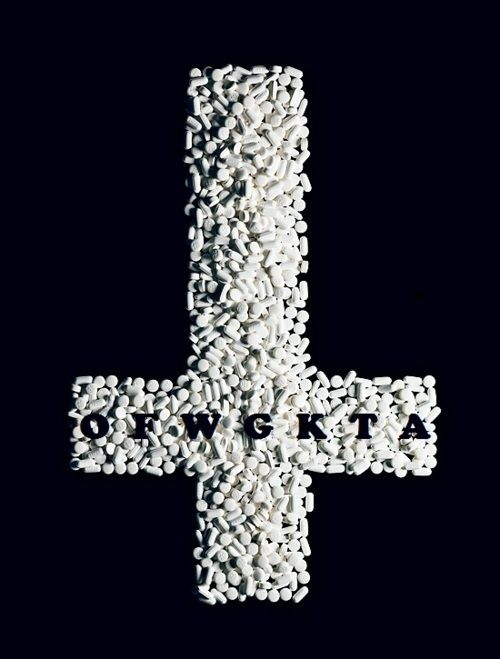 OFWGKTA upside down cross ~ pills | ODD FUTURE | Pinterest