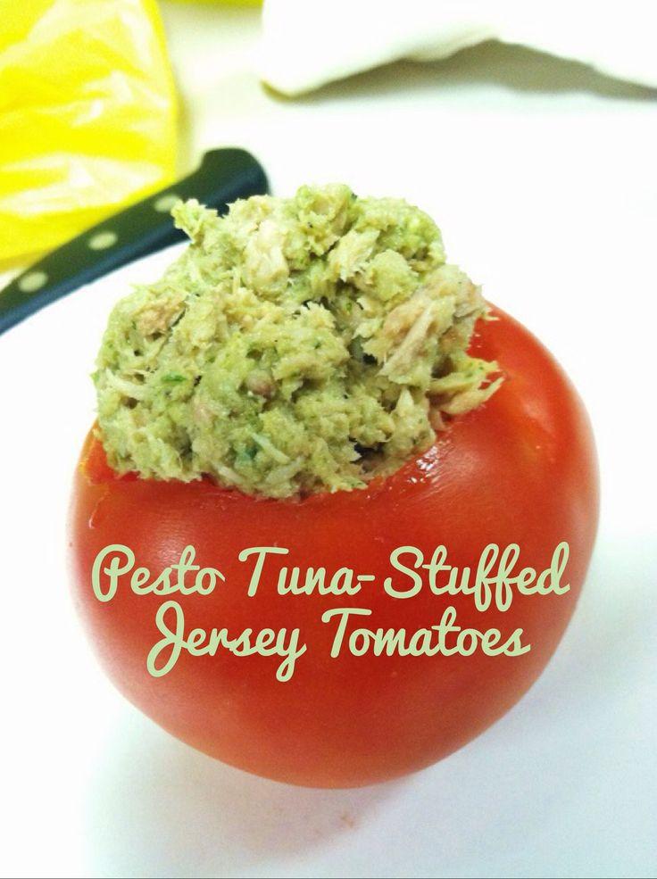Tuna And Pesto Sandwich Recipe — Dishmaps