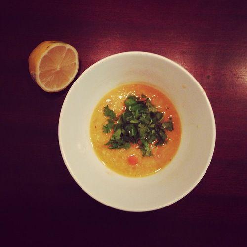 Red lentil soup with lemon | Recipes | Pinterest