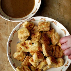 Roasted Tofu With Dipping Sauce Recipe — Dishmaps