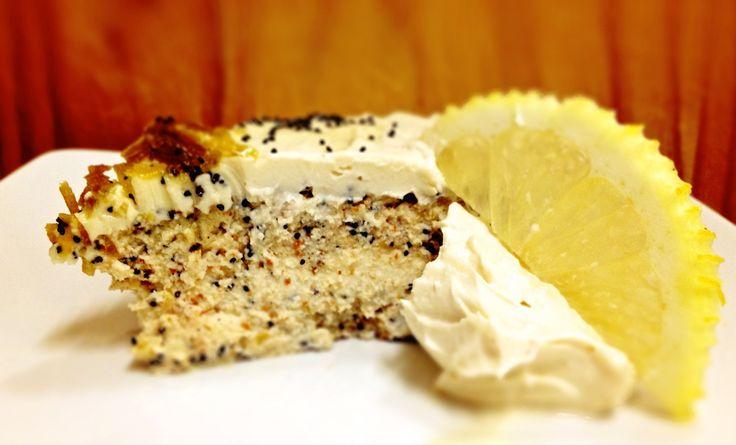 raw lemon poppyseed cake | Good Treats | Pinterest
