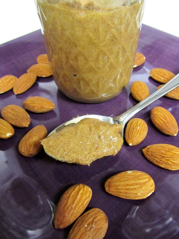 Homemade almond butter | Butter recipes | Pinterest