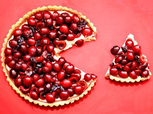 Cherry-Amaretto Tart | Recipe