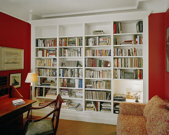 eclectic home office bookshelves design for the home