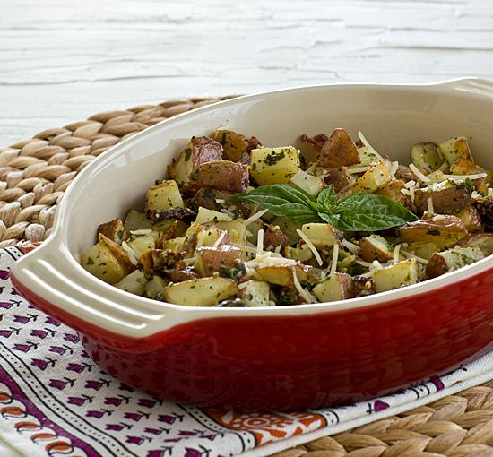 Roasted Pesto Potato Hash | Recipe