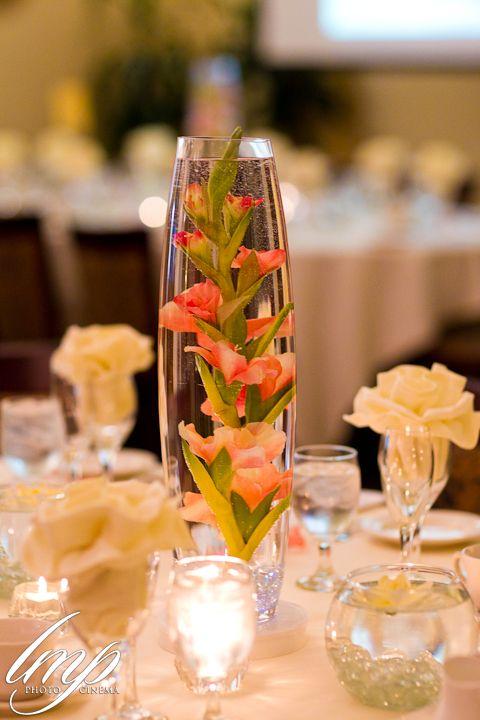 Artificial Flower Centerpiece Idea Wedding Stuff Pinterest
