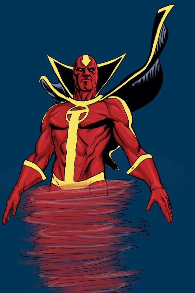 Red Tornado | Superhero Shenanigans!! | Pinterest