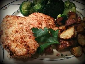 Parmesan Panko Chicken | Dinner Is Served (my food blog) | Pinterest