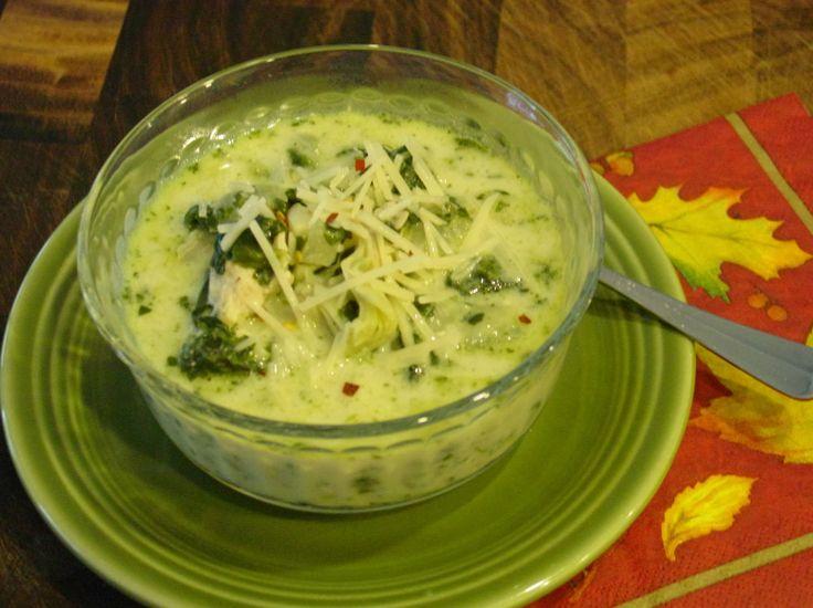 Spinach Artichoke Soup | NOM NOMS | Pinterest