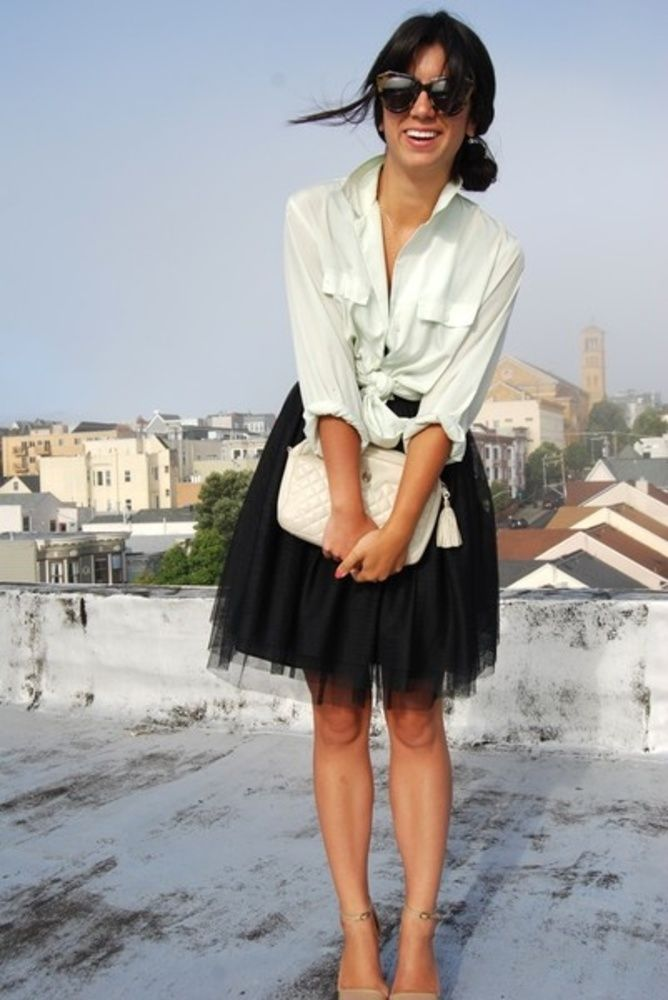 Tulle Skirts; Not Just for Ballerinas - work ...