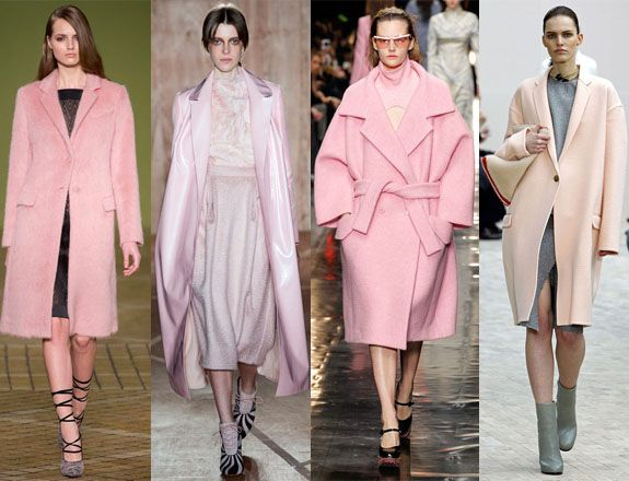 Pink coats for AW13, which is your fave?