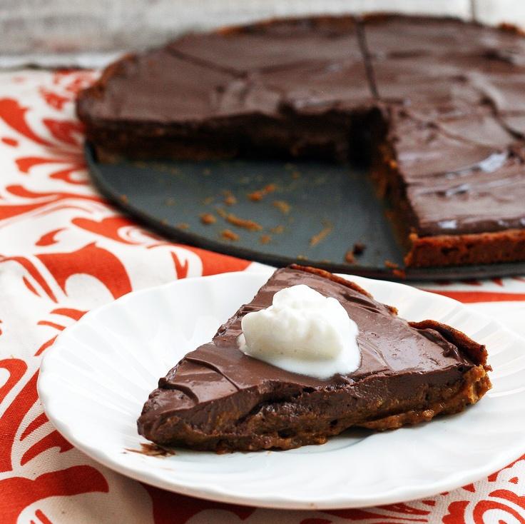 Pumpkin Chocolate Mousse Pie | Desserts - Pumpkin | Pinterest