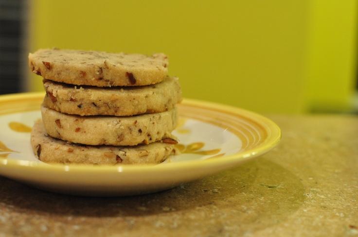 Browned Butter-Pecan Shortbread Recipe — Dishmaps