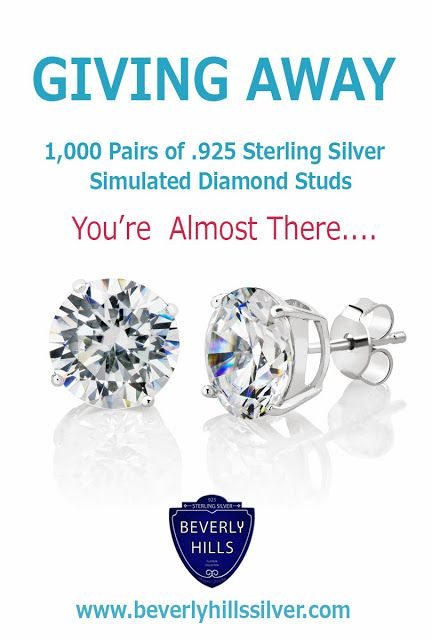 Sterling silver studs for the first 1 000 click the image to learn