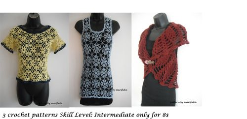 crochet patterns for Intermediate only for 8$ marifu6a - Patterns ...