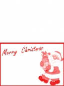 Santa Claus Christmas Card   Free Printable Cards   Pinterest