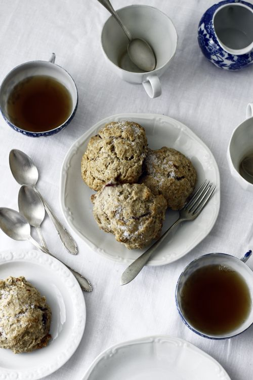 Blackberry & almond buckwheat Scones. | ||Dish > Sweet | Pinterest