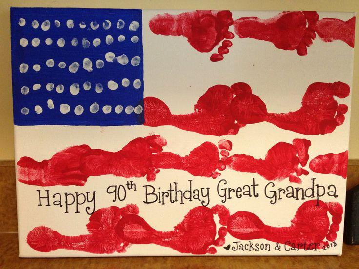 memorial day handprint art