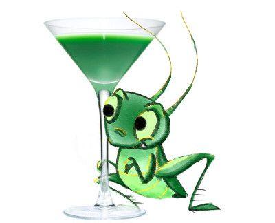 Grasshopper Cocktail Drink