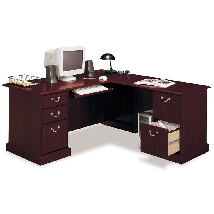 Have to have it. Bush - Saratoga L-Shaped Computer Desk $548.99
