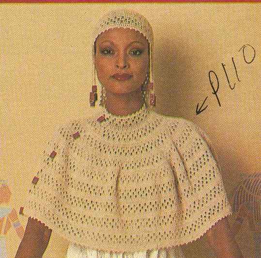 Free Vintage Crochet Capelet Patterns : Vintage capelet pattern Crochet and Knitting Pinterest