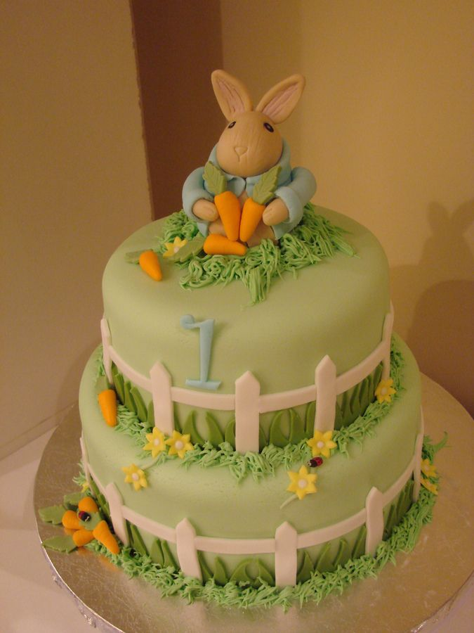 Easter Cake Decorations Pinterest : peter rabbit cake - Google Search cake/cookie decorating ...