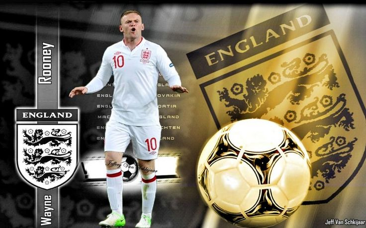 Wayne Rooney England 2012 Wallpapers HD | Yohanes | Pinterest