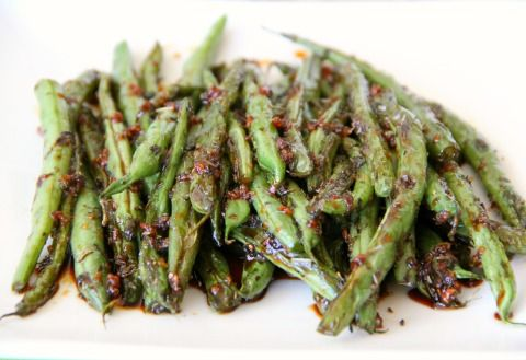 New for Thanksgiving — Sweet and Savory Thanksgiving Green Beans  (Secret Recipe Club)